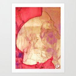 JIZIZCAT Art Print