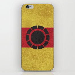 Iron Clade Colors iPhone Skin