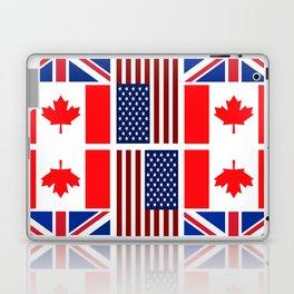 ABC Three Flags Laptop & iPad Skin