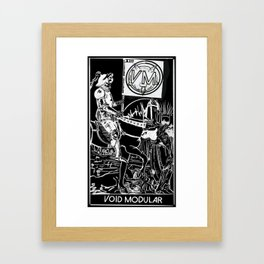 VOID Modular - Death tested, death approved Framed Art Print