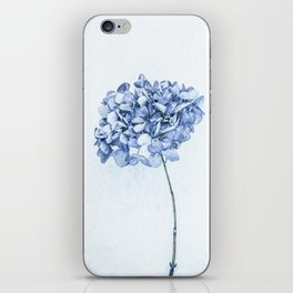 Hydrangea Blue 2 iPhone Skin