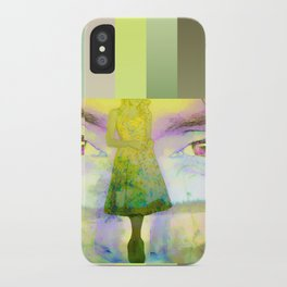Disjointed Memory  iPhone Case