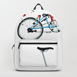 Folding London Brompton Bicycle Backpack