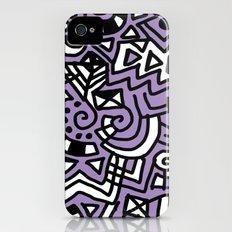 The Purple Doodle Slim Case iPhone (4, 4s)