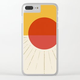 .sunny day. Clear iPhone Case