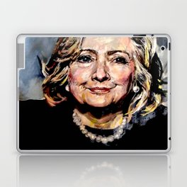 HILLARY CLINTON OFFICIAL PORTRAIT Laptop & iPad Skin