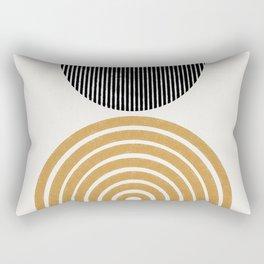 Rainbow and Moon Rectangular Pillow