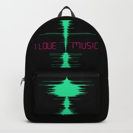 I LOVE MUSIC Backpack