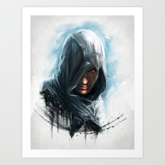 'We work in the dark, to serve the light'...Altair Art Print