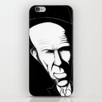 tom waits iPhone & iPod Skins featuring Tom Waits by Mr Shins