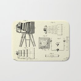 Photographic Camera-1885 Bath Mat