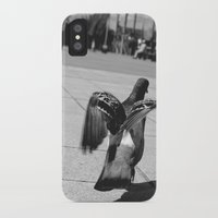 pigeon iPhone & iPod Cases featuring Pigeon by Mark Spence