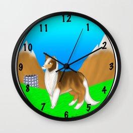 Lassie Wall Clock