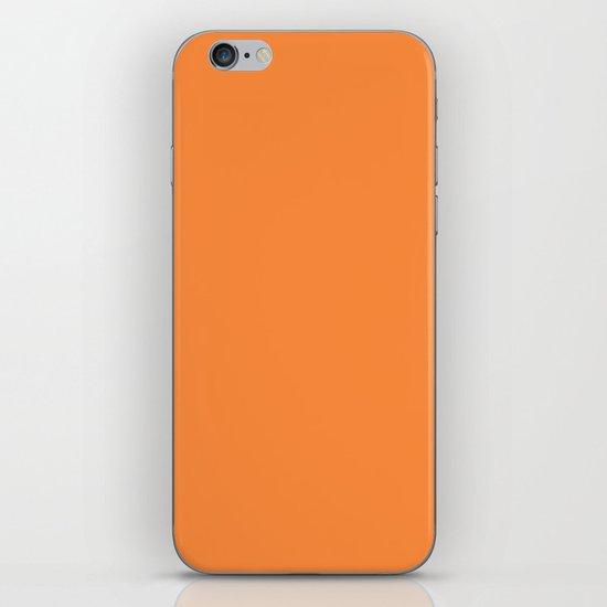 Orange Lollipop iPhone & iPod Skin