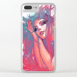 Marguerite nymphe Clear iPhone Case