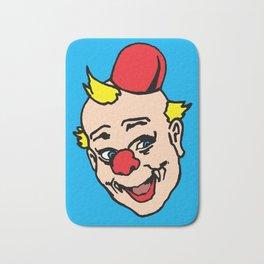 clown art, clown illustration, clown pop art, home decor Bath Mat