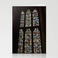 marc johns Stationery Cards featuring Chapel St Johns. by Von Zeppy