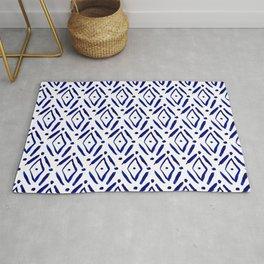 Shibori Diamond pattern Rug