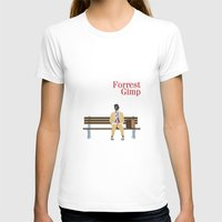 forrest gump T-shirts featuring FORREST GIMP by Ian O'Hanlon