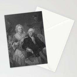 President Washington At Home Stationery Cards