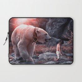 Polar Bear Pet / Playtime Laptop Sleeve