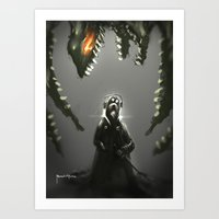 abyss Art Prints featuring Abyss by Benedick Bana