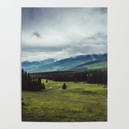 Mountain Trail - Landscape and Nature Photography Poster