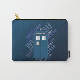 Tardis Whoosh sound Doctor Who Carry-All Pouch