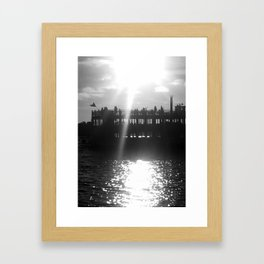 Ferry Boat Framed Art Print