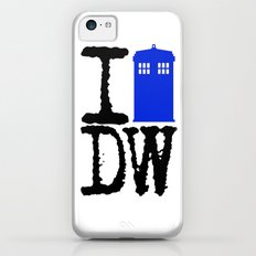 I Love Doctor Who! iPhone 5c Slim Case