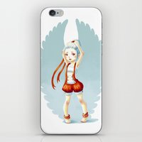 dancer iPhone & iPod Skins featuring Dancer by Freeminds