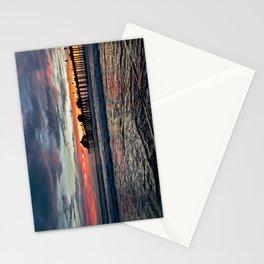 Huntington Beach Sunset  1/26/14 Stationery Cards