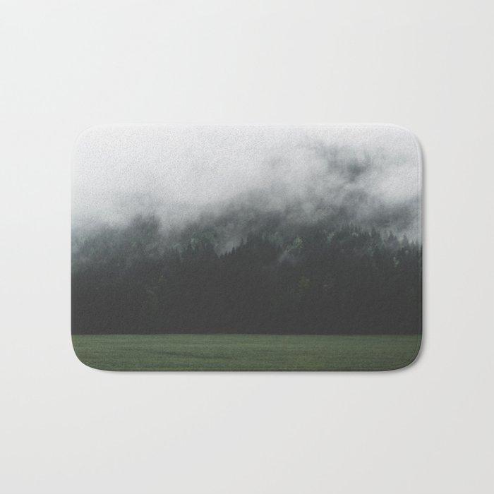 Spectral Forest - Landscape Photography Bath Mat