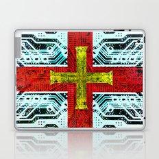 circuit board guernsey Laptop & iPad Skin