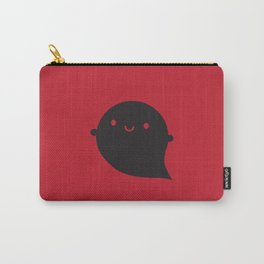 Evil Twin Black Ghost - Kawaii Halloween Carry-All Pouch