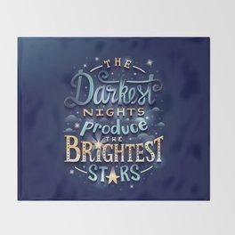 Brightest Stars Throw Blanket