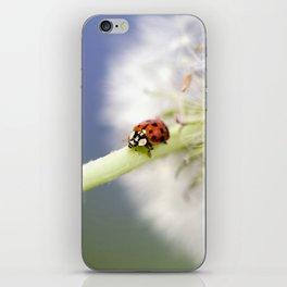 Dandelion Ladybugs iPhone Skin