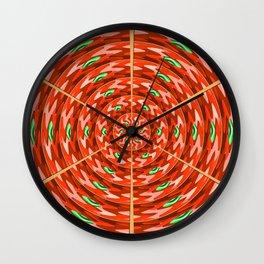 Pizzaro Wall Clock