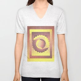 Twisted in the sky Unisex V-Neck