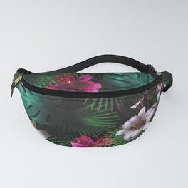 Tropical Night Garden Fanny Pack