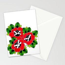 Traditional Roses  Stationery Cards