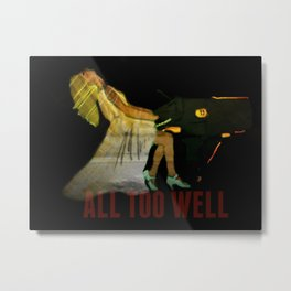 all too well Metal Print