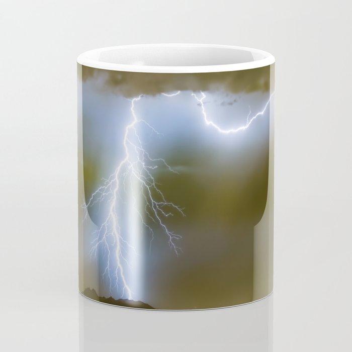 Into the Arizona Monsoon Evening Coffee Mug