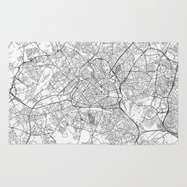 Lille Map Line Rug