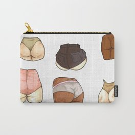 all butts are beautiful Carry-All Pouch