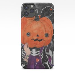 GOSH! I'M A PUMPKIN! iPhone Case