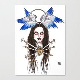 Lady of Sorrows Canvas Print