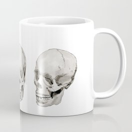 Three Skulls Coffee Mug