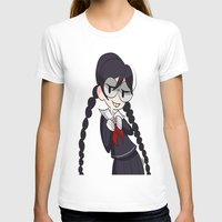 dangan ronpa T-shirts featuring Book Girl by dartty