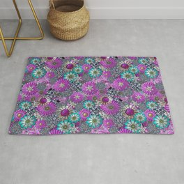 Kitschy Kitsch Jewelry  Pink and Turquoise Rug